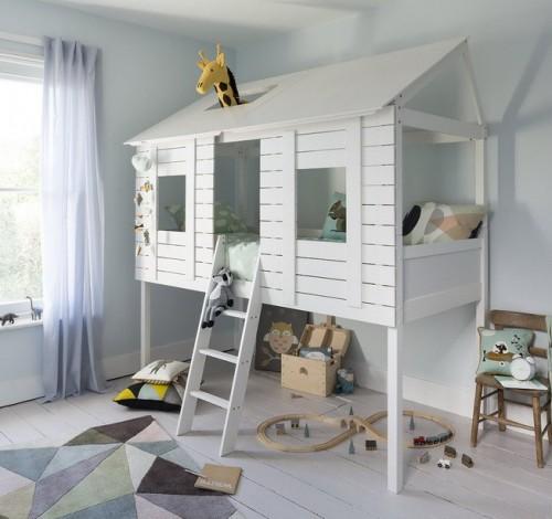 Детская двухъярусная кровать Loft 1