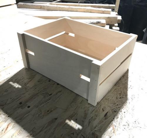 Ящик обрешетка декор